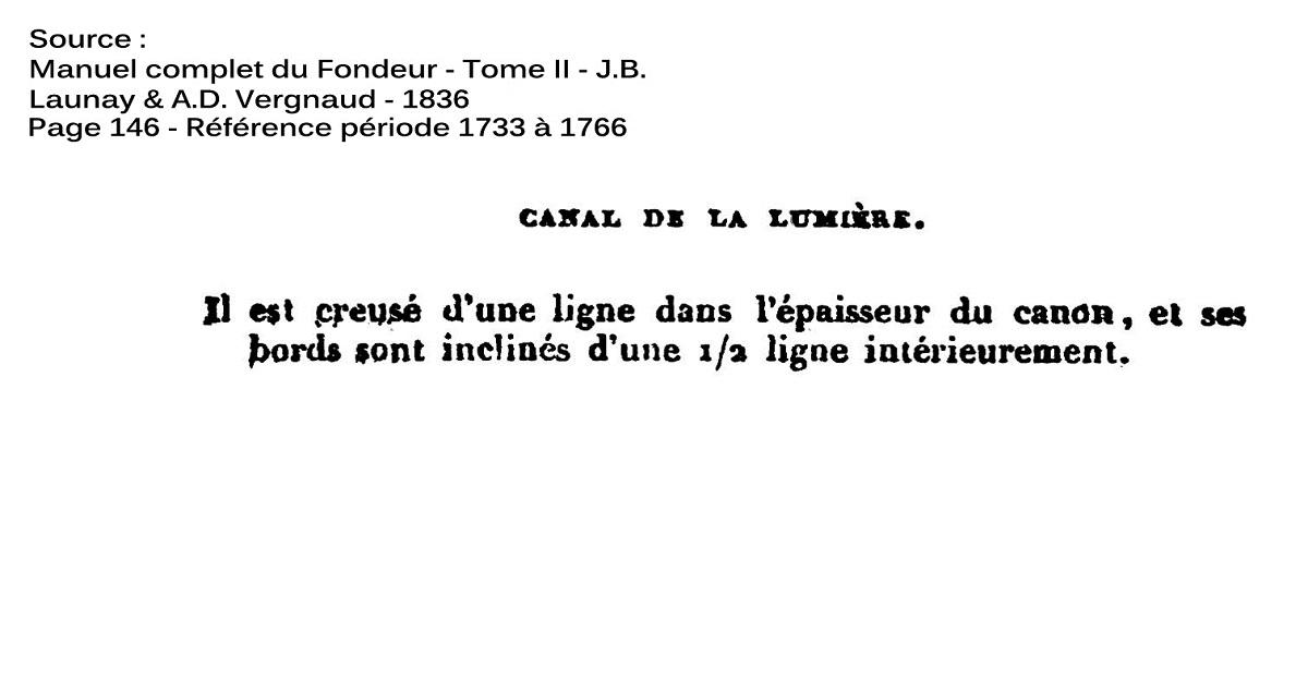 Etude et tracé d'un canon de fer selon Jean Maritz - Période 1733 à 1766 - Page 2 Cq_cha10