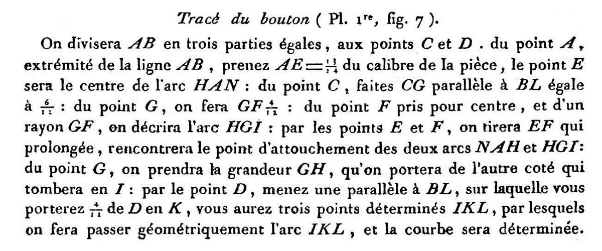Etude et tracé d'un canon de fer selon Jean Maritz - Période 1733 à 1766 - Page 2 De_bou11