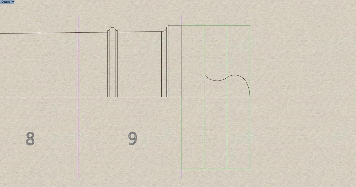 Etude et tracé d'un canon de fer selon Jean Maritz - Période 1733 à 1766 - Page 3 Dw_cul10