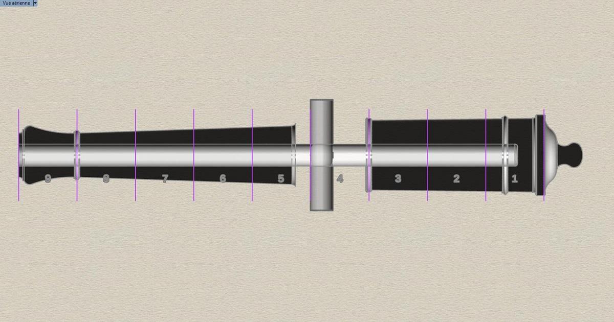 Etude et tracé d'un canon de fer selon Jean Maritz - Période 1733 à 1766 - Page 3 Fi_tou10