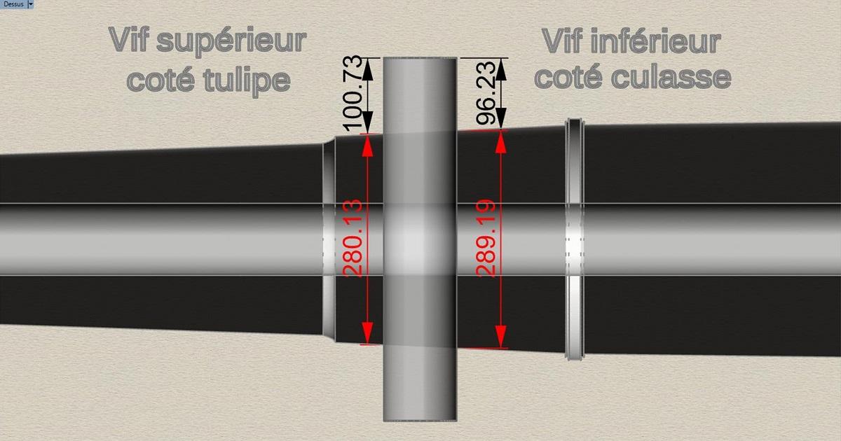 Etude et tracé d'un canon de fer selon Jean Maritz - Période 1733 à 1766 - Page 3 Fk_tou10