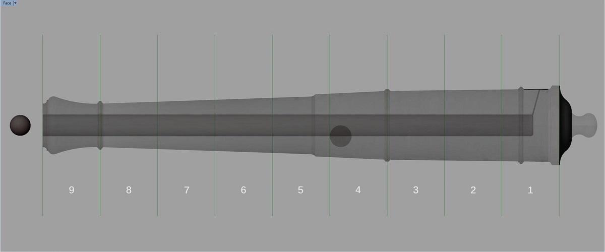 Etude et tracé d'un canon de fer selon Jean Maritz - Période 1733 à 1766 - Page 3 Fu_syn10