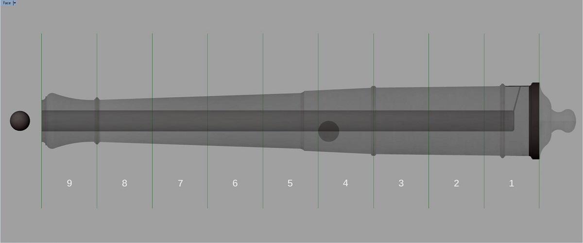 Etude et tracé d'un canon de fer selon Jean Maritz - Période 1733 à 1766 - Page 3 Fw_syn10
