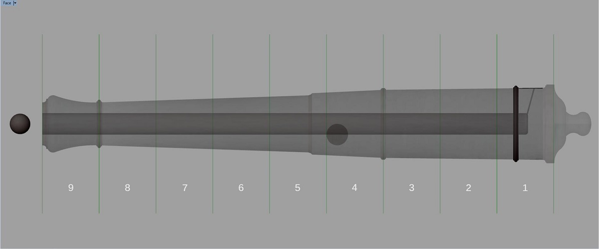 Etude et tracé d'un canon de fer selon Jean Maritz - Période 1733 à 1766 - Page 3 Gc_syn10