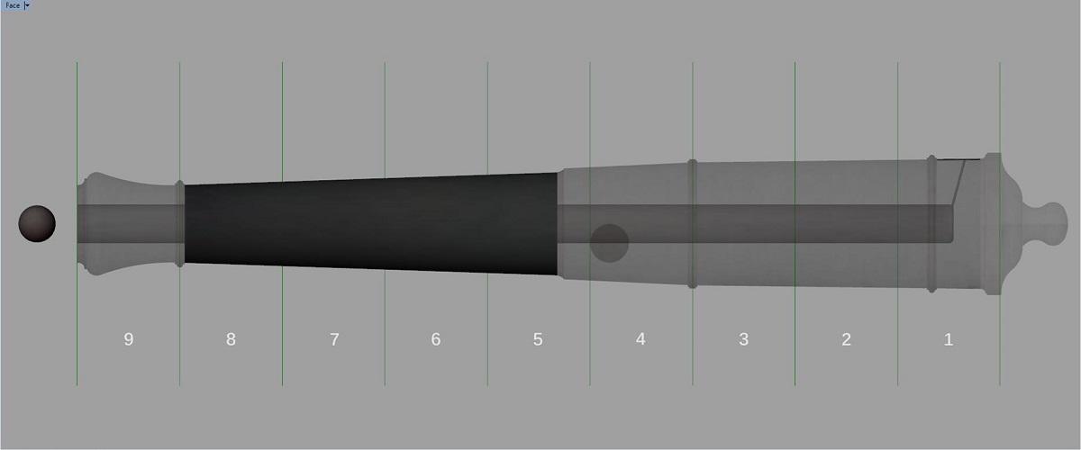 Canon de fer - Calibre 6 - Période 1733 à 1766 Go_syn10