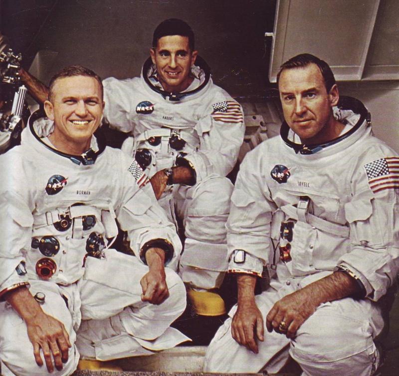 La conquête de l'espace et de la Lune... Borman10