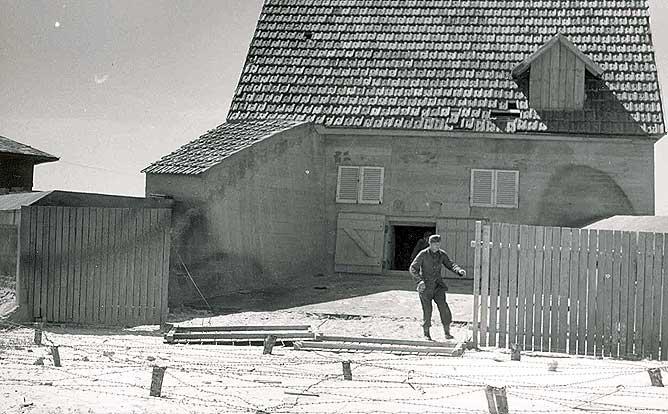 Dessins d'un jeune GI en 1944 (Normandie) Camo11