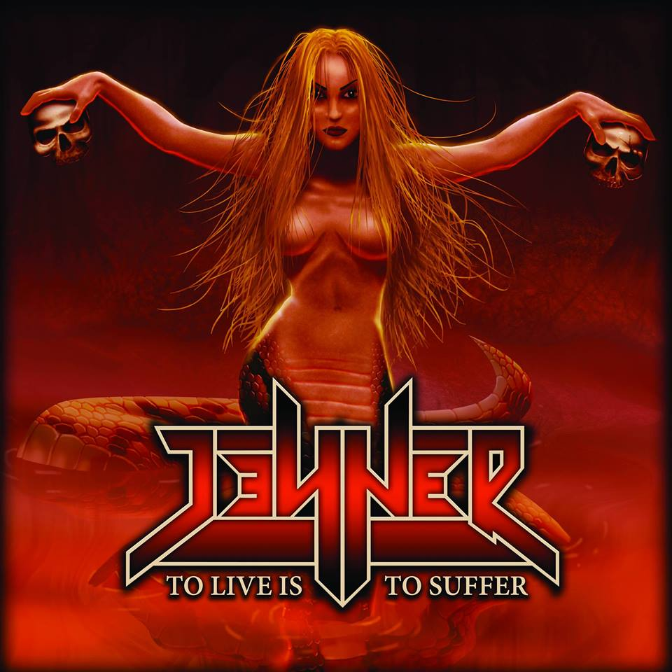 JENNER To Live Is To Suffer (2017) Speed-Metal au féminin SERBIE 13912410