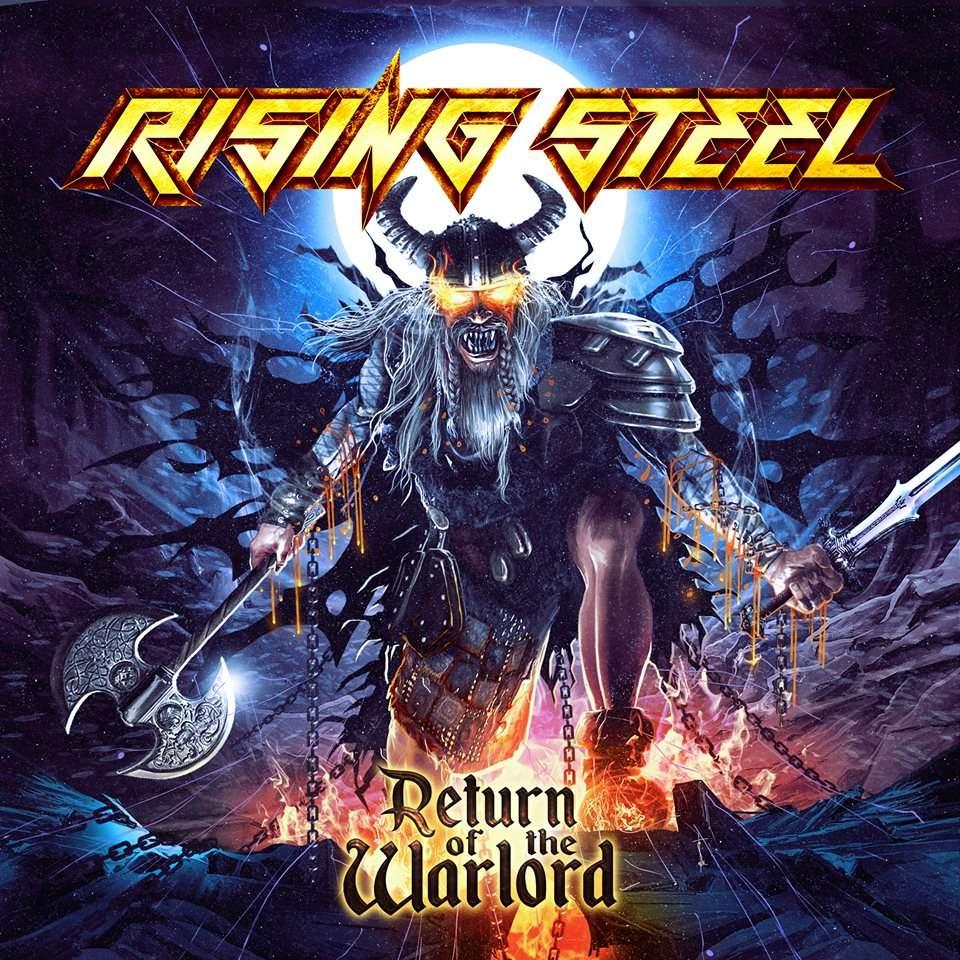 RISING STEEL Return Of The Warlord (2016) Heavy Metal (Grenoble) 14333610