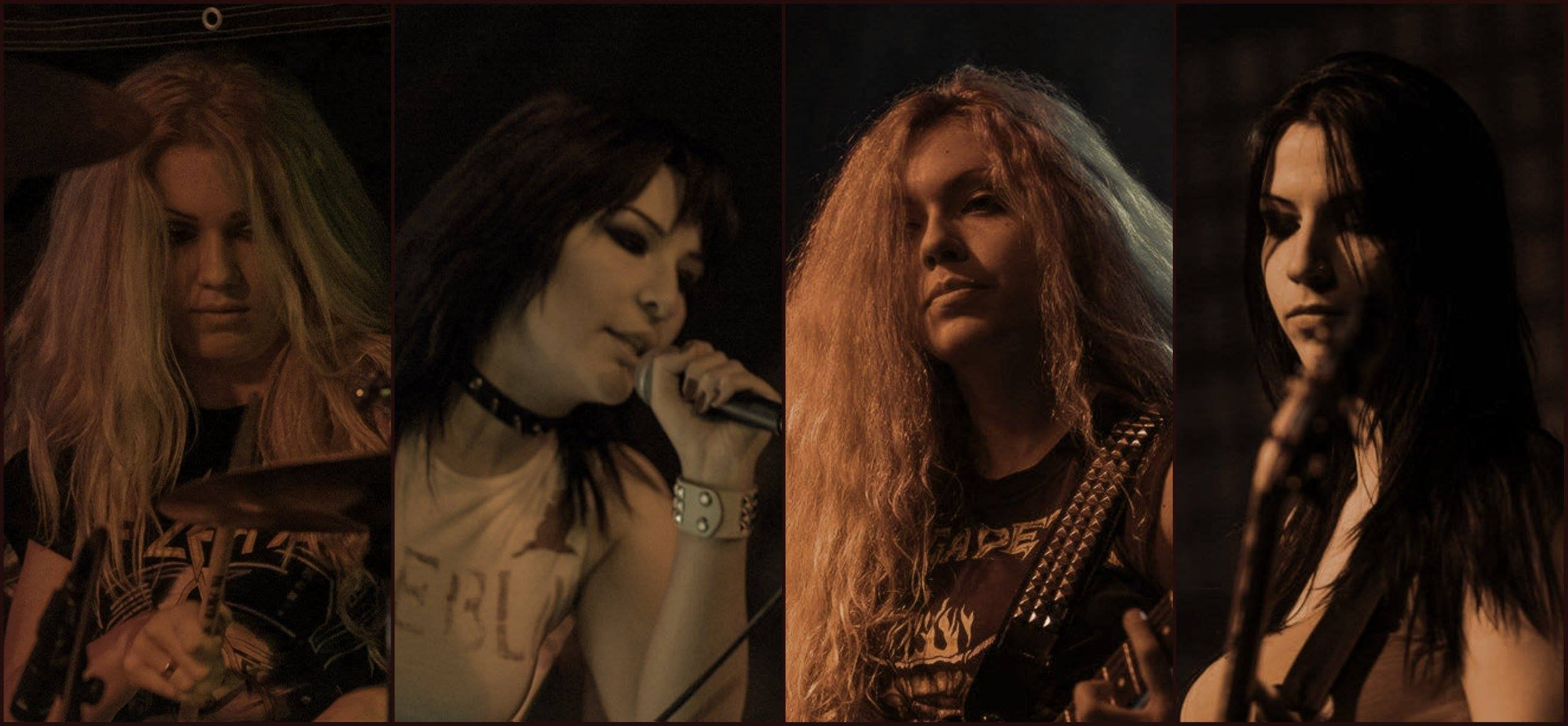 JENNER To Live Is To Suffer (2017) Speed-Metal au féminin SERBIE 15403810
