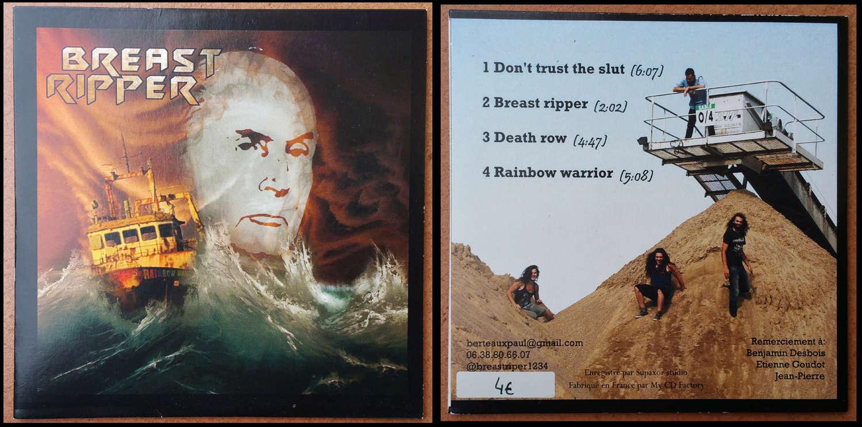 "BREAST RIPPER ""Rainbow Warrior"" (2016) EP 4 titres Heavy-Metal Breast11"