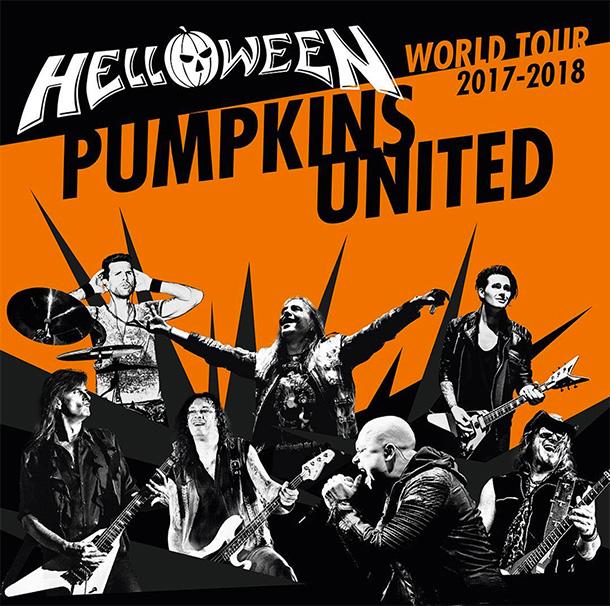HELLOWEEN PUMPKINS UNITED World Tour 2017/2018 Hellow10