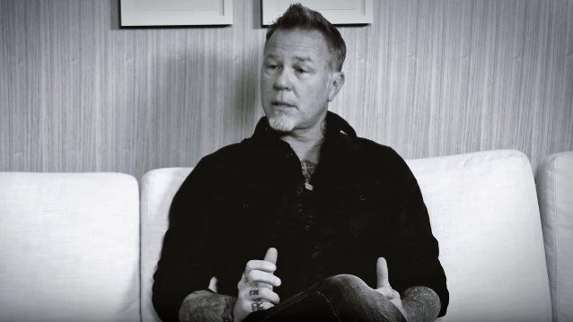 James Hetfield a dit ... Sur la façon dont ses enfants voient ce qu'il fait dans la vie ... Jamesh10