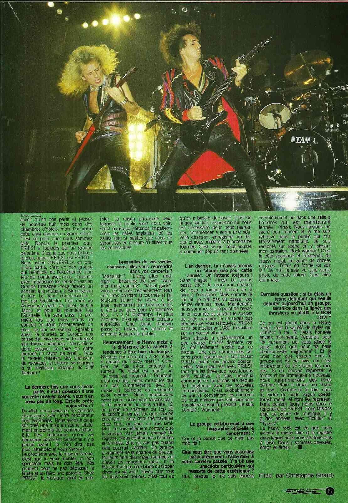 RAM DAM CHEZ PRIEST par Sylvie Simmons (Hard Force Mai 1988) Numyri19