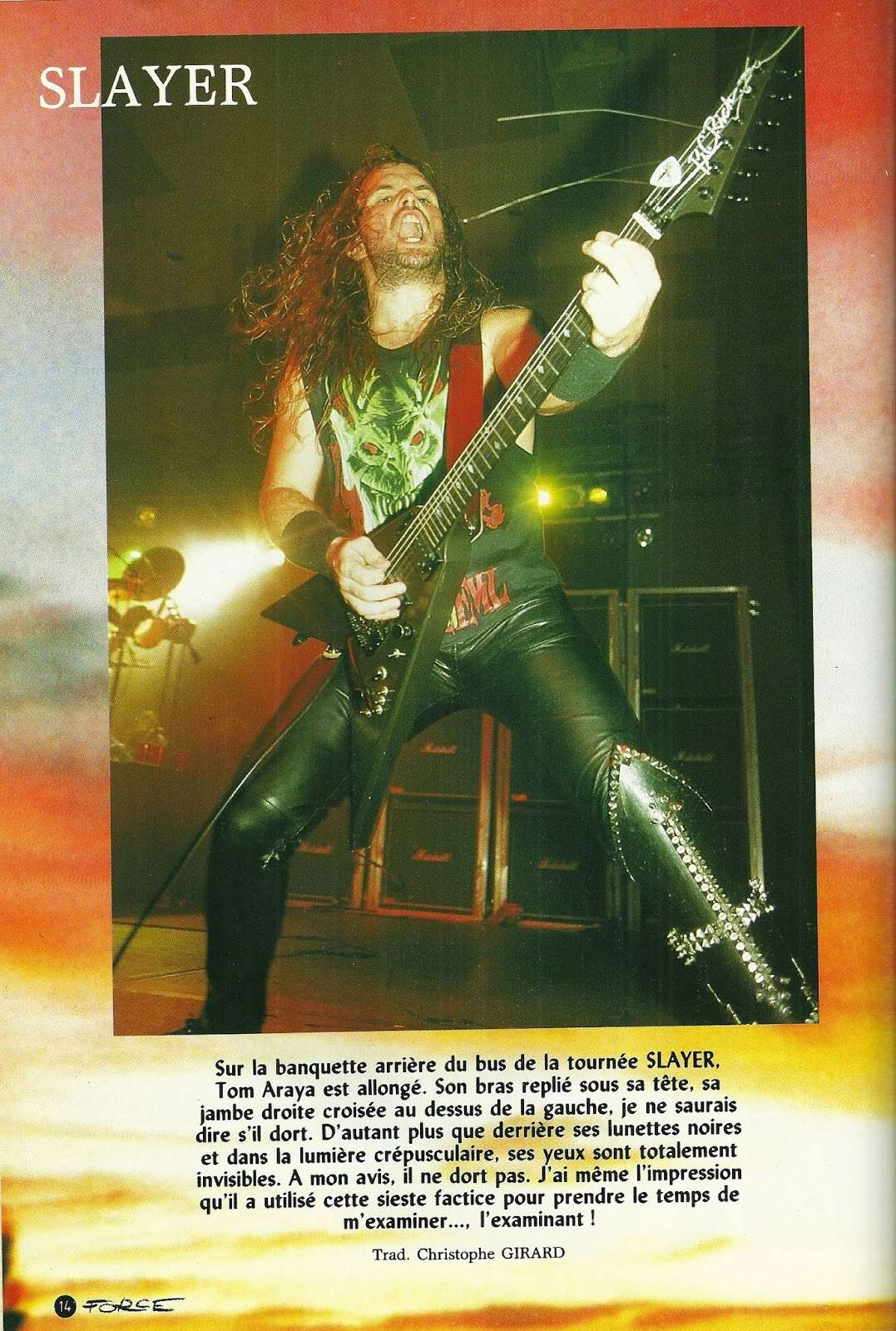 SLAYER ... Psychotherapie de Groupe (Hard Force Janvier 1989) Numyri23