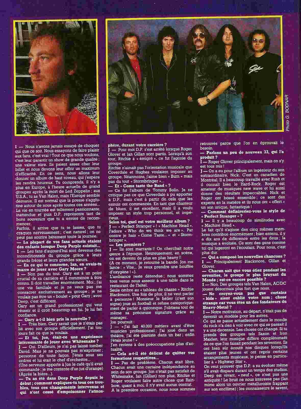 DEEP PURPLE : le dinosaure ressucité ! (Metal Attack Octobre 1984) Numyri28