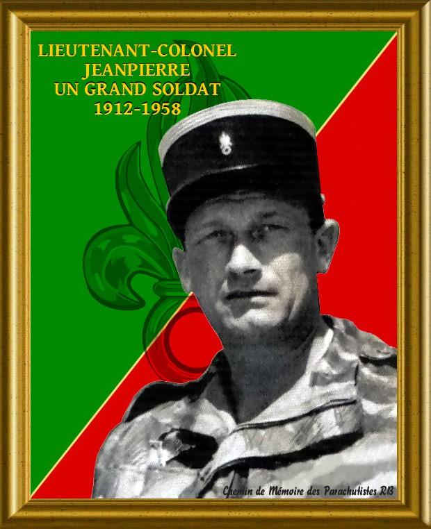 Le Lieutenant-Colonel Jeanpierre Un soldat de légende 1_foru10