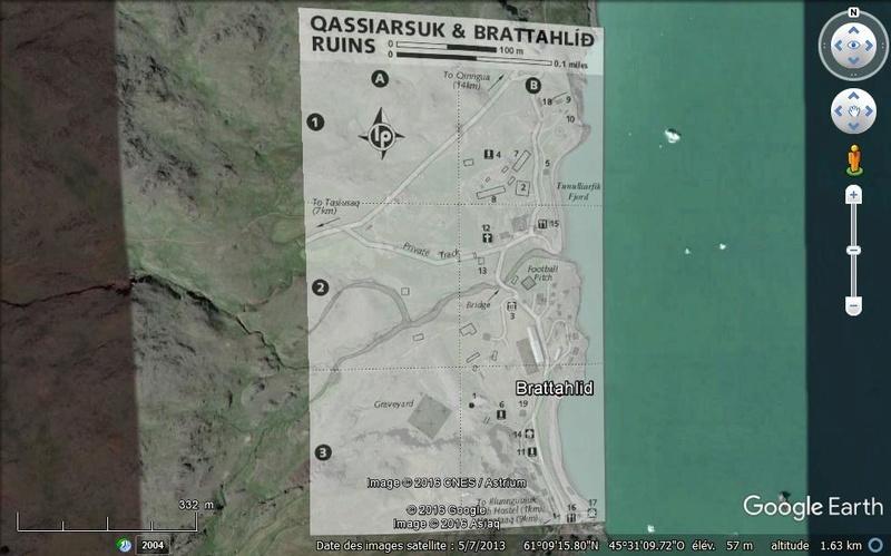 Traversée d'Qassiarsuk vers Narsarsuaq, Kujalleq au Groenland. Brat10