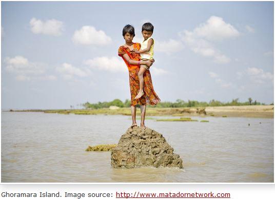 Ile disparue - Lohachara - Delta du Gange - Inde Ghoram10