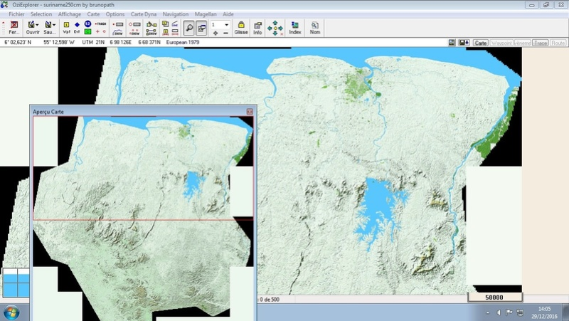 OziExplorer et ses liaisons cartographiques Surina12
