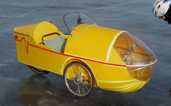 Projet : Catrike Speed en vélomobile Davetr10