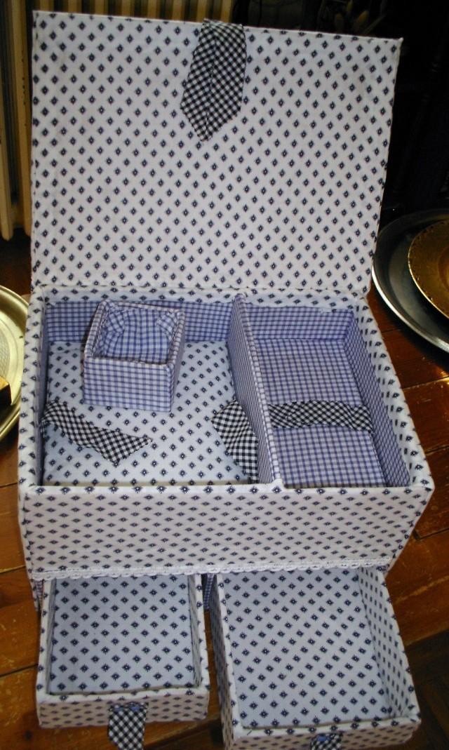 quelques boites en cartonnage de ma fabriquation Boite_11