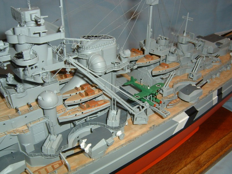Bismarck (Tamiya + PE Eduard 1/350°) par fab-reims Bis35021