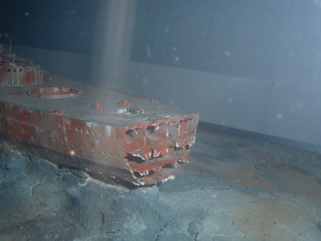 Le Bismarck et son epave au 1/350 (réalisation Alain moitrot) Bism0111