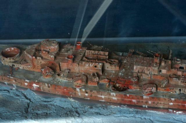 Le Bismarck et son epave au 1/350 (réalisation Alain moitrot) Paul_514
