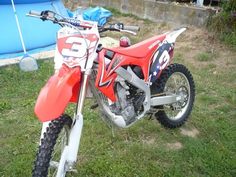 échange crf 250 2010 contre une crf450 Photo110