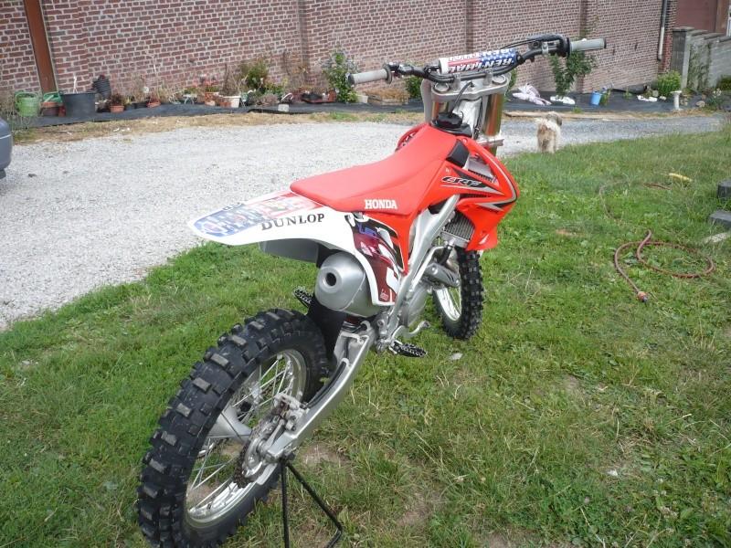 échange crf 250 2010 contre une crf450 Photo310