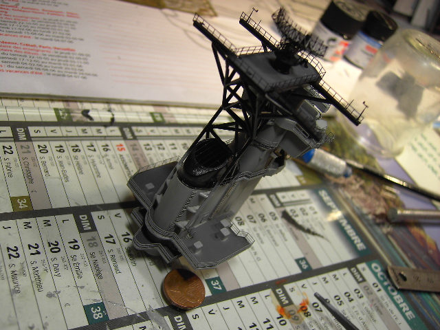 U.S.S New Jersey BB-62 1/350 REVELL limited edition - Page 2 Pict9222