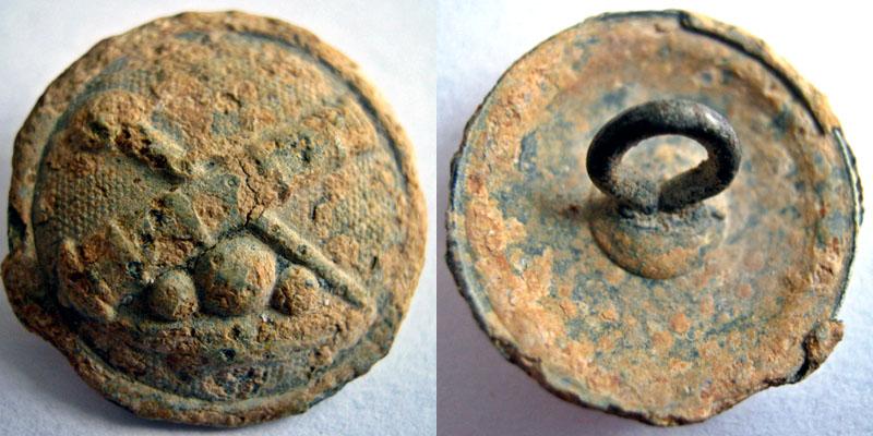 Botón de artilería del ejercito AUSTROUNGARO de mefiados del siglo XIX y principios del XX 7388_i10