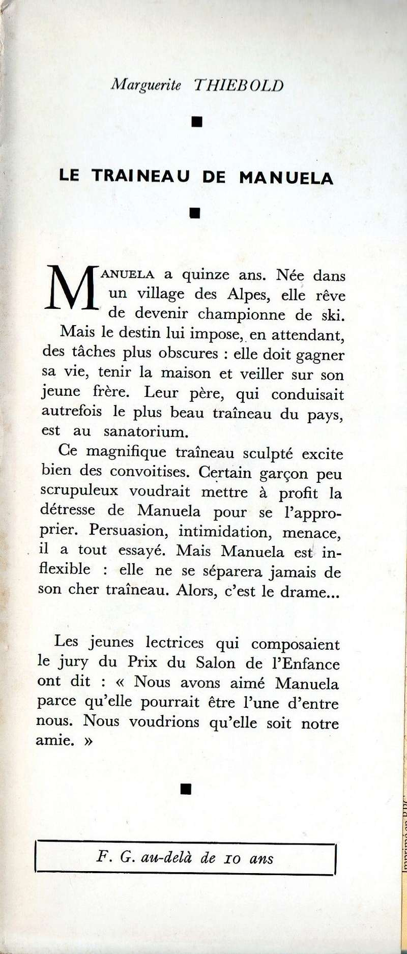 Les livres d'enfants avec bandeau.  1964le11