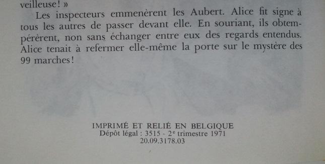 Recherches sur les anciennes éditions d'Alice (Titres 31 à 45) 87519710