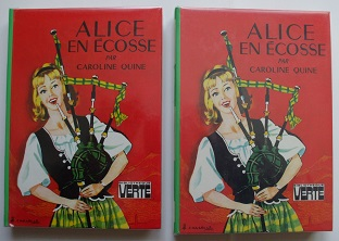 Recherches sur les anciennes éditions d'Alice (Titres 16 à 30)  98090610