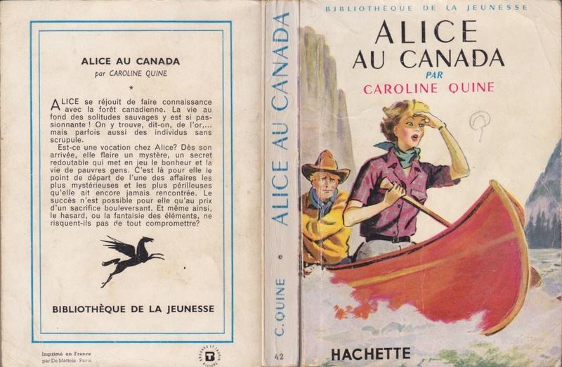 Recherches sur les anciennes éditions d'Alice (Titres 1 à 15) Canada11