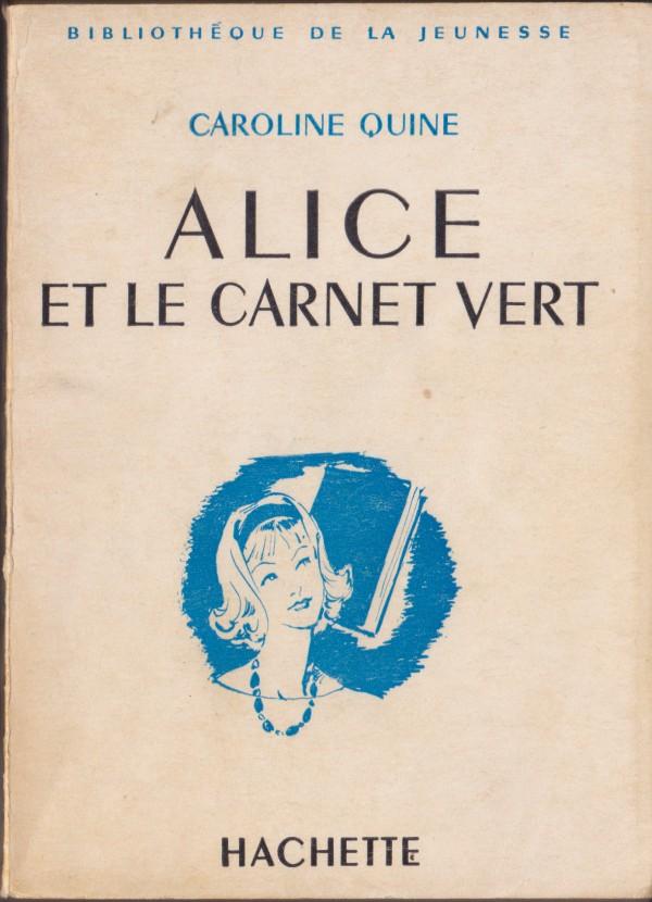 Recherches sur les anciennes éditions d'Alice (Titres 16 à 30)  Carnet10