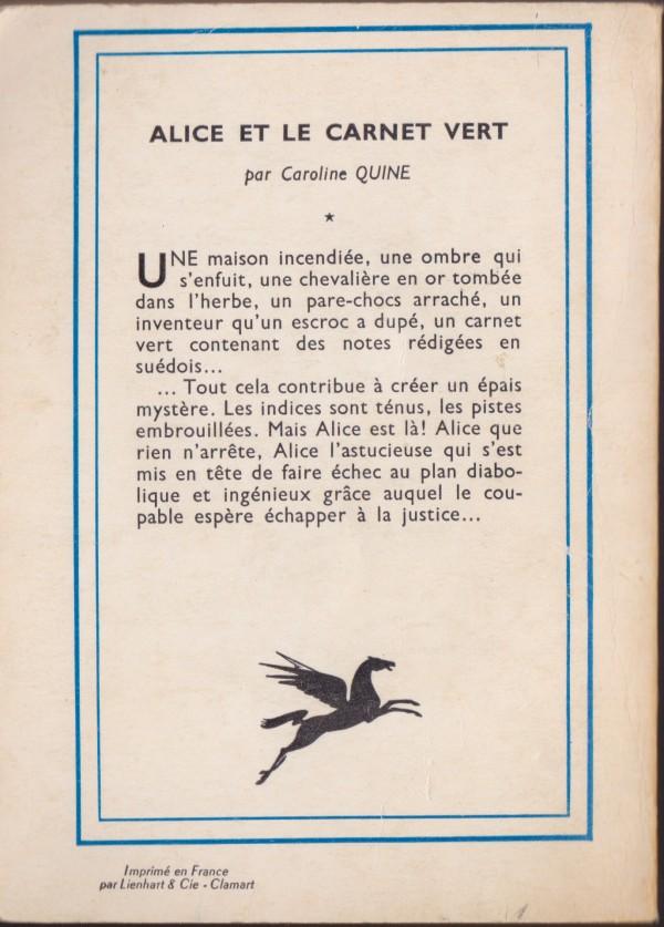 Recherches sur les anciennes éditions d'Alice (Titres 16 à 30)  Carnet11