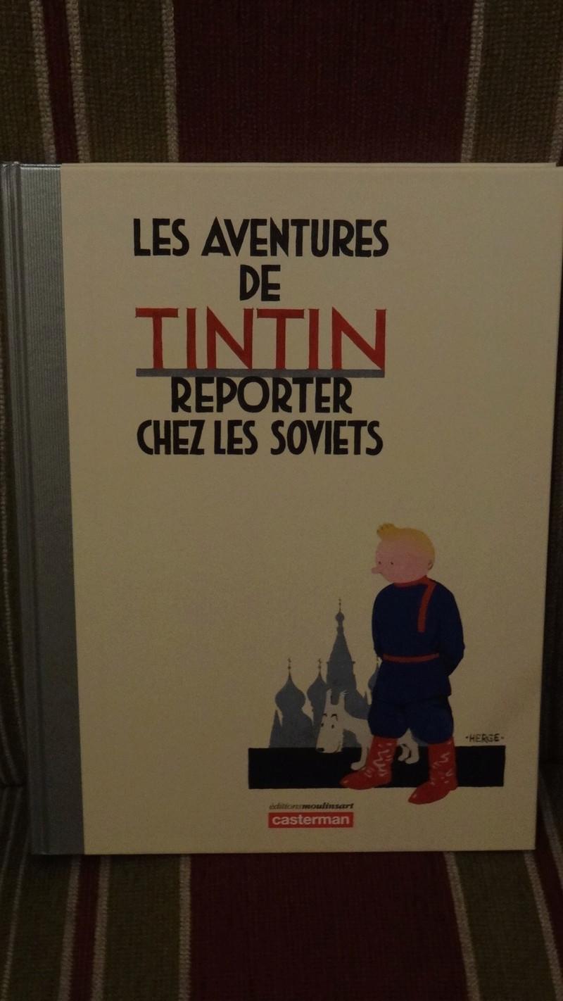 La grande histoire des aventures de Tintin. Dsc02720