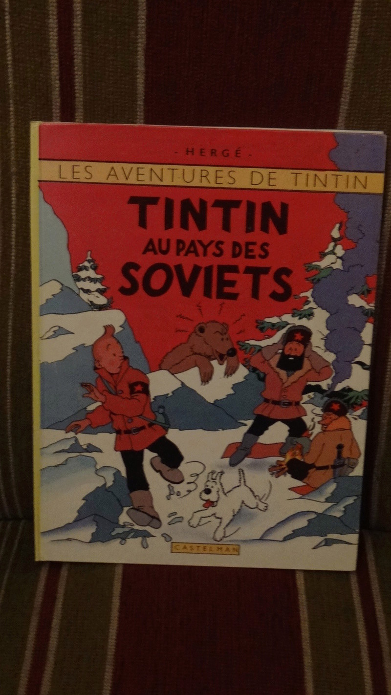 La grande histoire des aventures de Tintin. Dsc02721