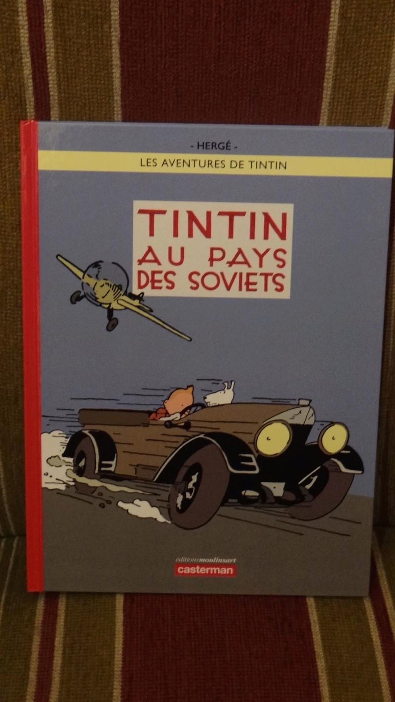 La grande histoire des aventures de Tintin. Dsc02722