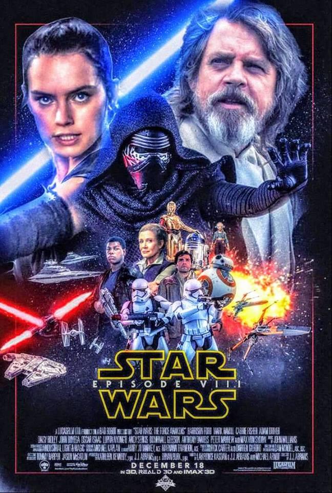 8 - Les posters de Star Wars VIII - The Last Jedi 16106010