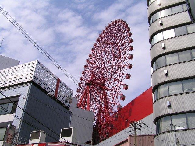 Grande roue sur toit d'Osaka - Japon 22270810