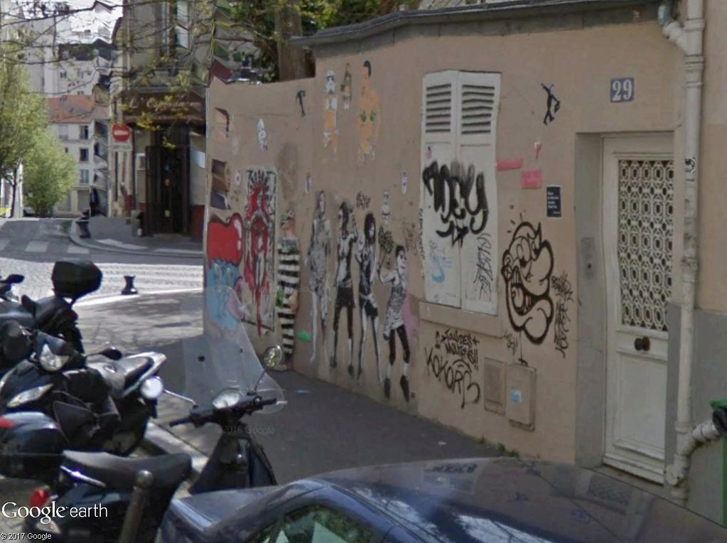 STREET VIEW : street art, grafs, tags et collages - Page 5 Bagnar11