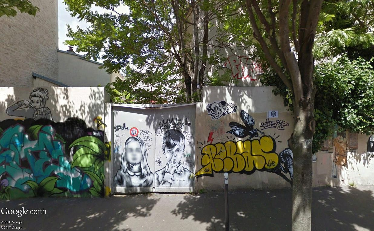 STREET VIEW : street art, grafs, tags et collages - Page 5 Cailll14