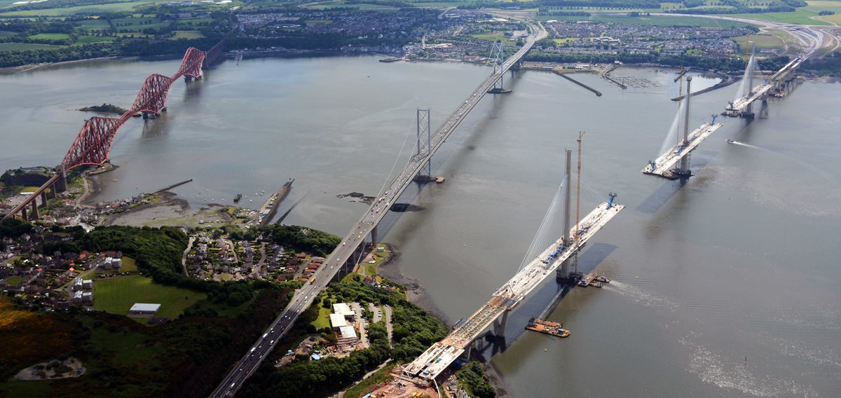[Désormais visible sur Google-Earth] - Le 3ème pont de Queensferry en Ecosse (Queensferry Crossing)) Cnvm_o10