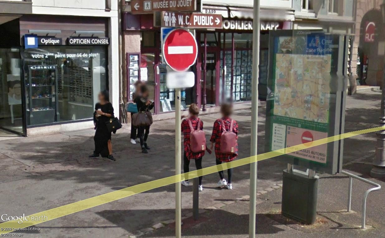 STREET VIEW : photos souvenir - Page 3 Colmar14