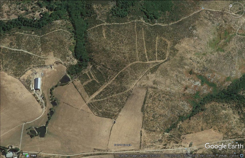Archéologie dans les Cévennes : dessins vus du ciel ? Dessin10