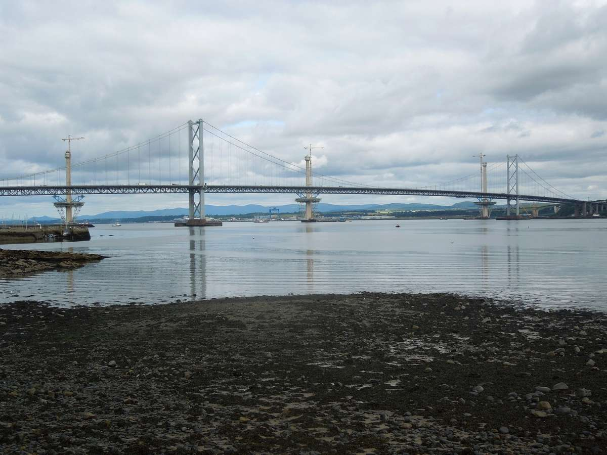 [Désormais visible sur Google-Earth] - Le 3ème pont de Queensferry en Ecosse (Queensferry Crossing)) Dscn2811